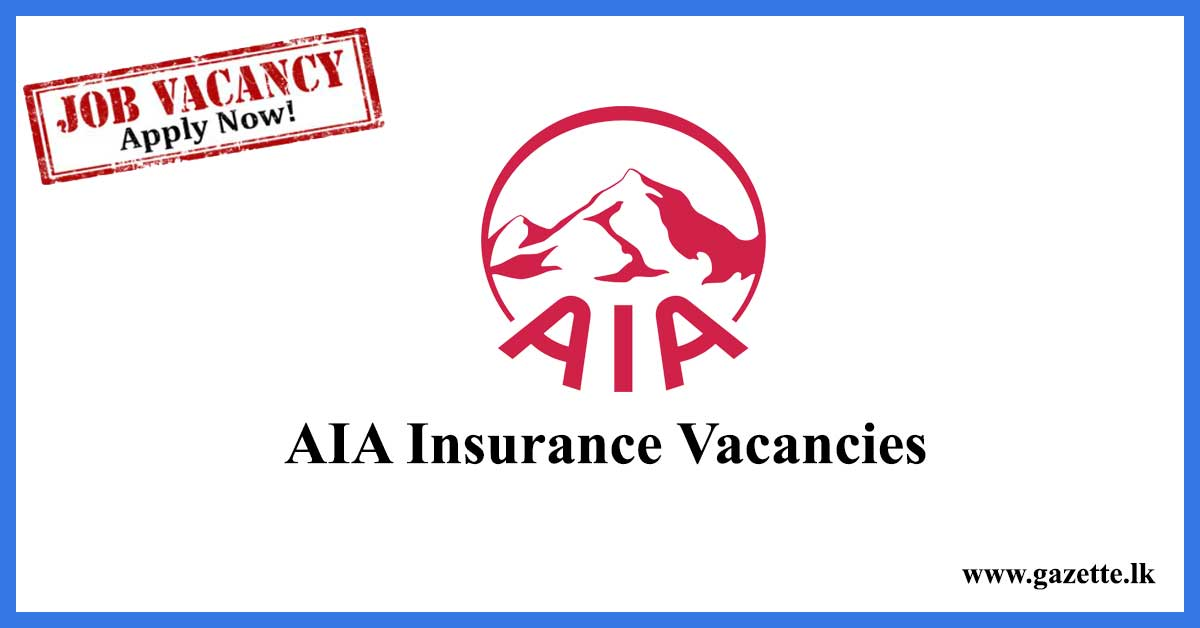 AIA-Insurance-Vacancies