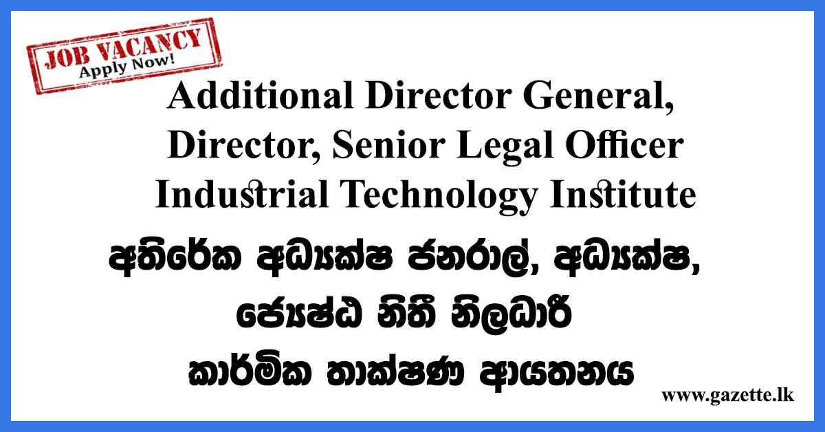 Additional-Director-General-ITI