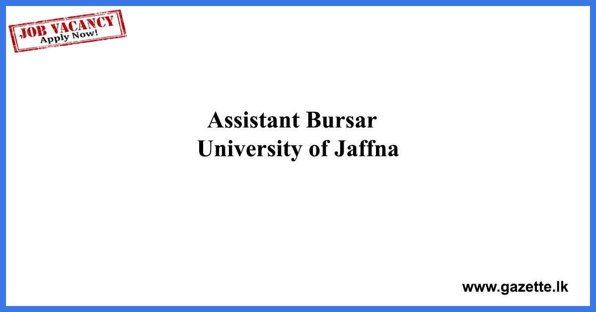 Assistant-Bursar