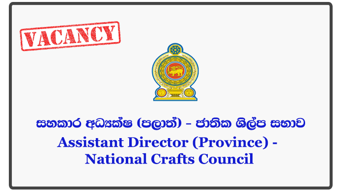 Assistant Director (Province) - National Crafts Council