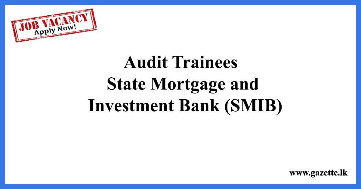 Audit Trainees