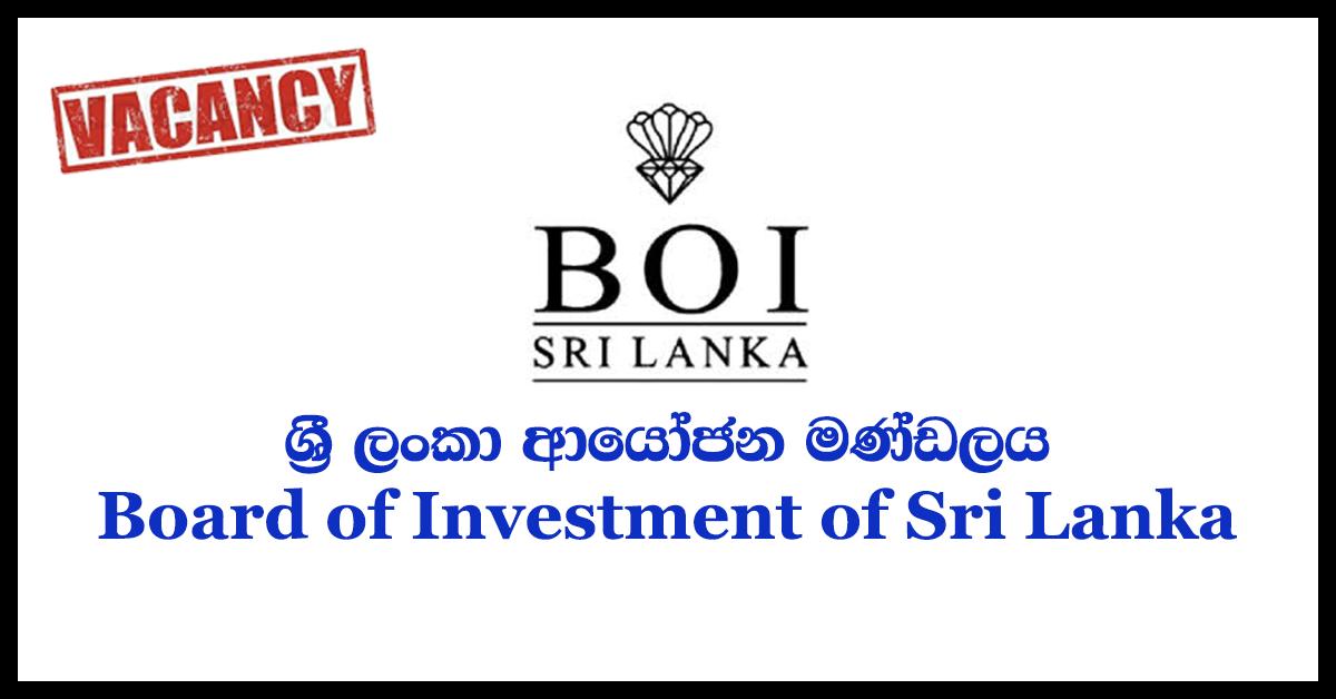 Board of Investment of Sri Lanka
