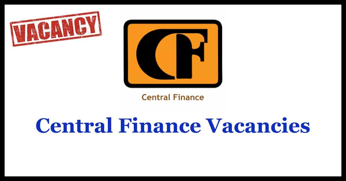 Central Finance Vacancies