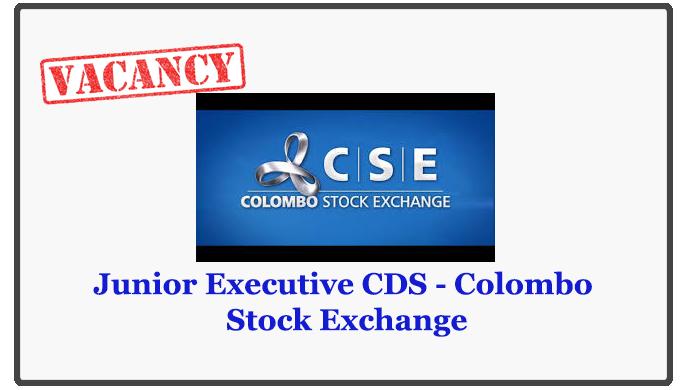 Junior Executive CDS - Colombo Stock Exchange