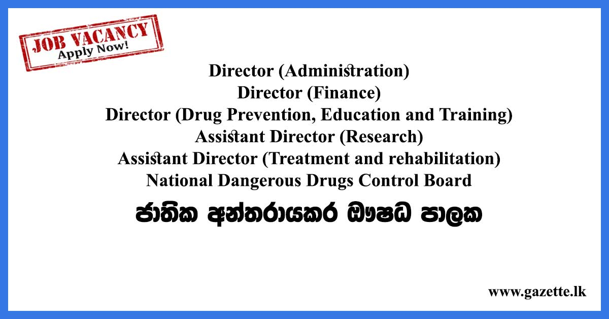 Director,-Assistant-Director-–-National-Dangerous-Drugs-Control-Board