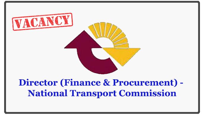 Director (Finance & Procurement) - National Transport Commission