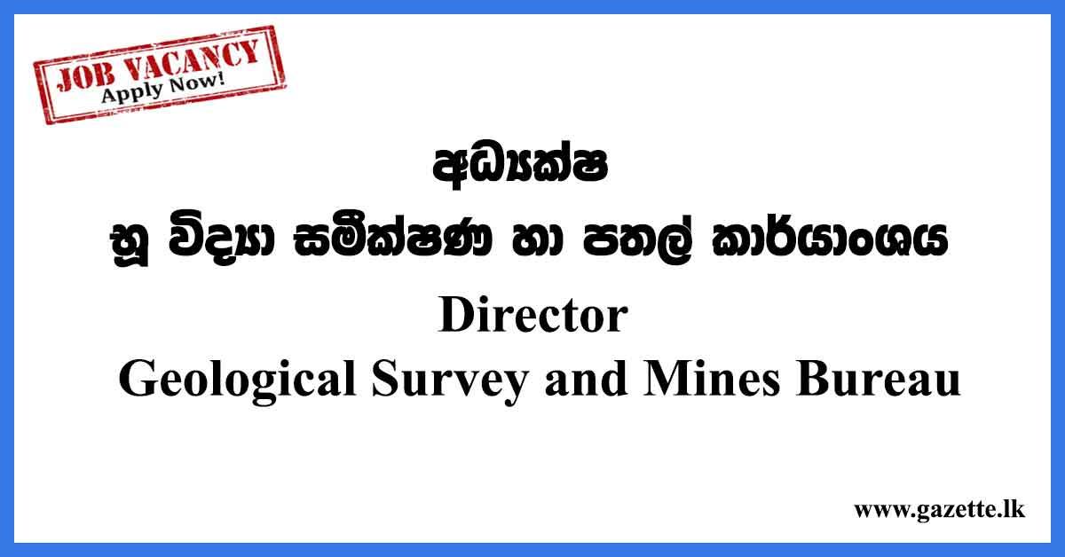 Director-Geological-Survey-and-Mines-Bureau