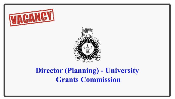 Director (Planning) - University Grants Commission