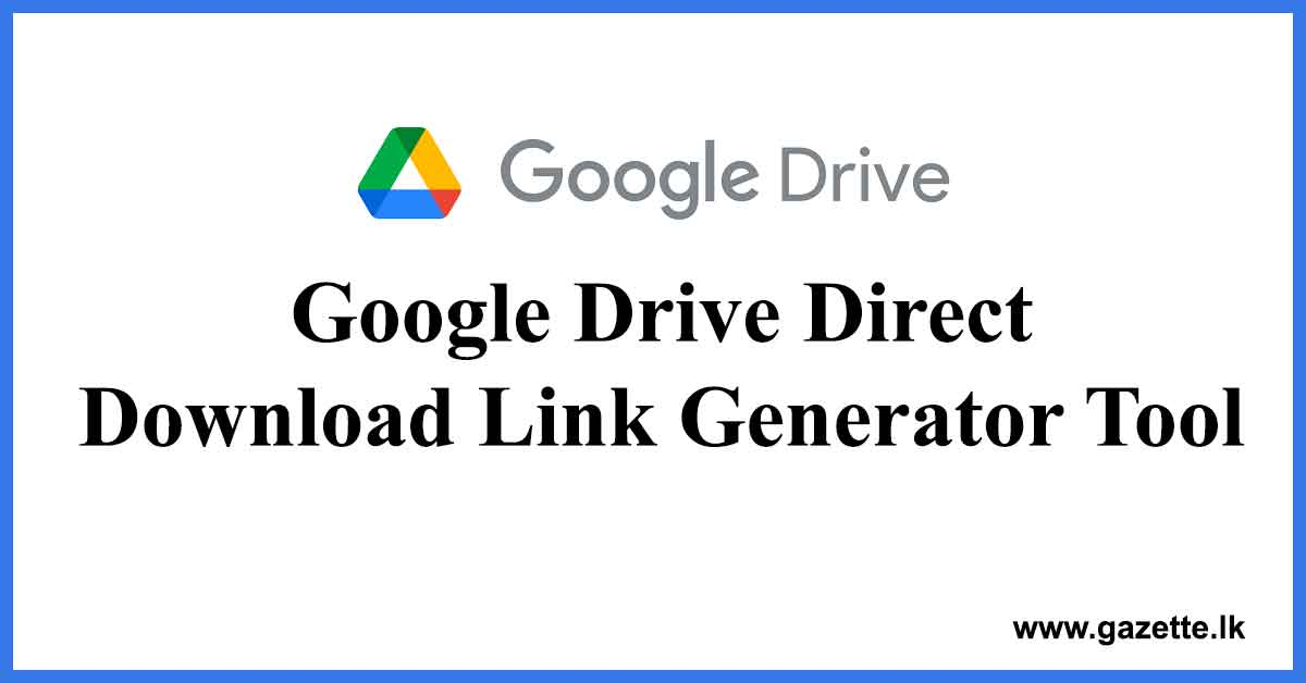 Google-Drive-Direct