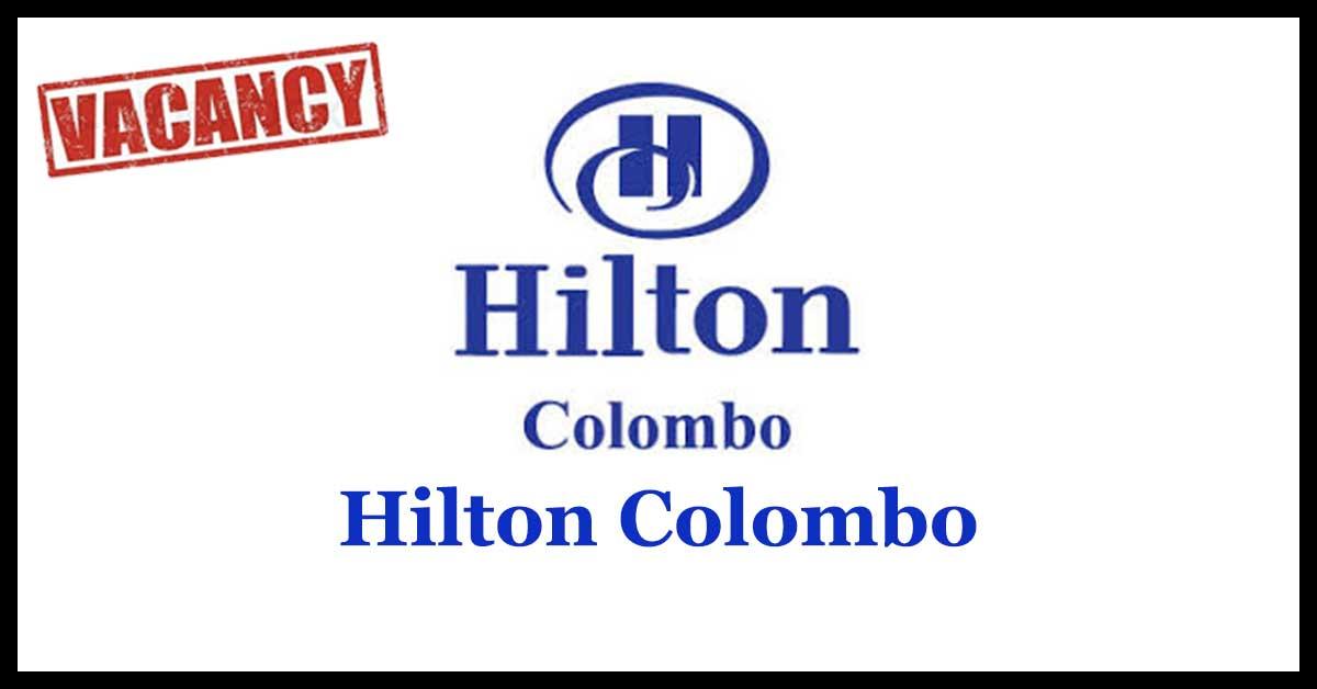 Hilton Colombo Vacancies 2018