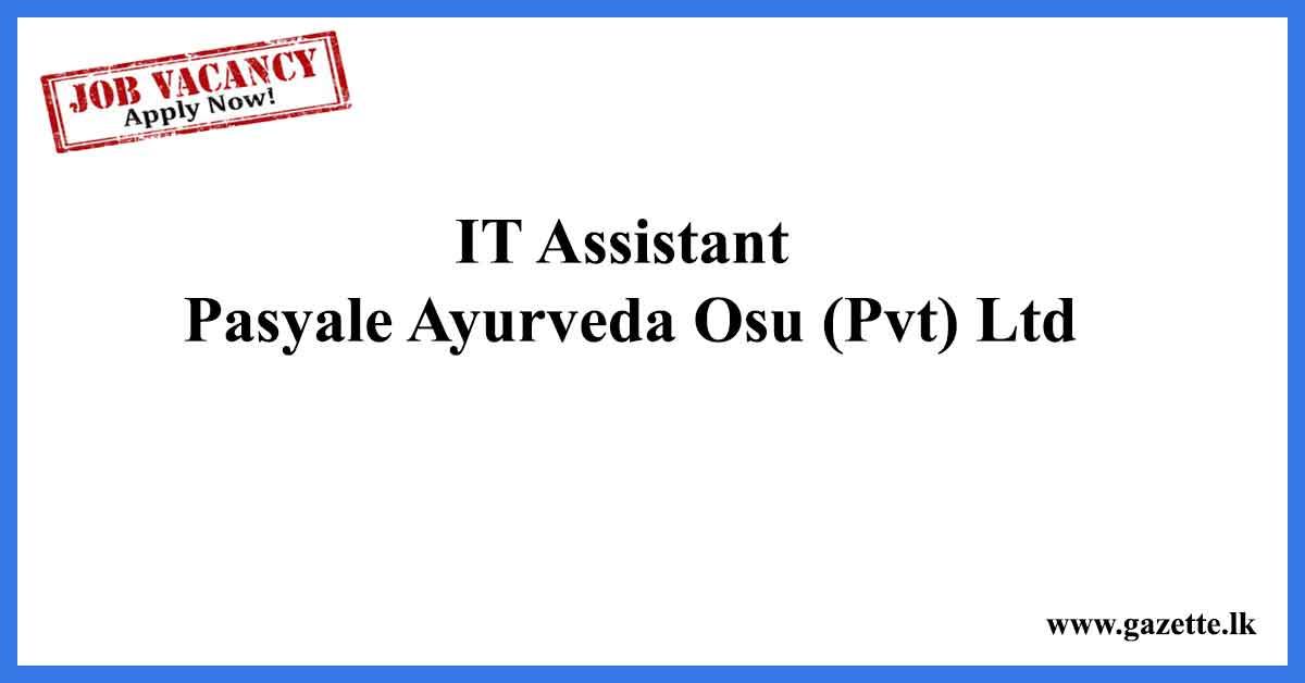 IT-Assistant-Vacancies