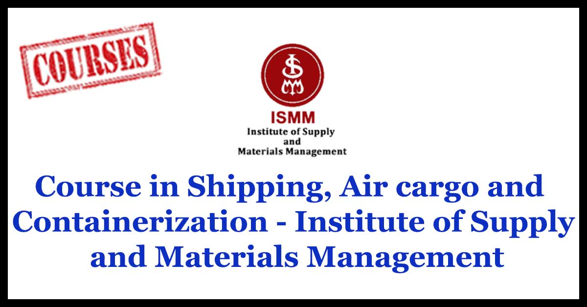 Institute of Supply and Materials Management
