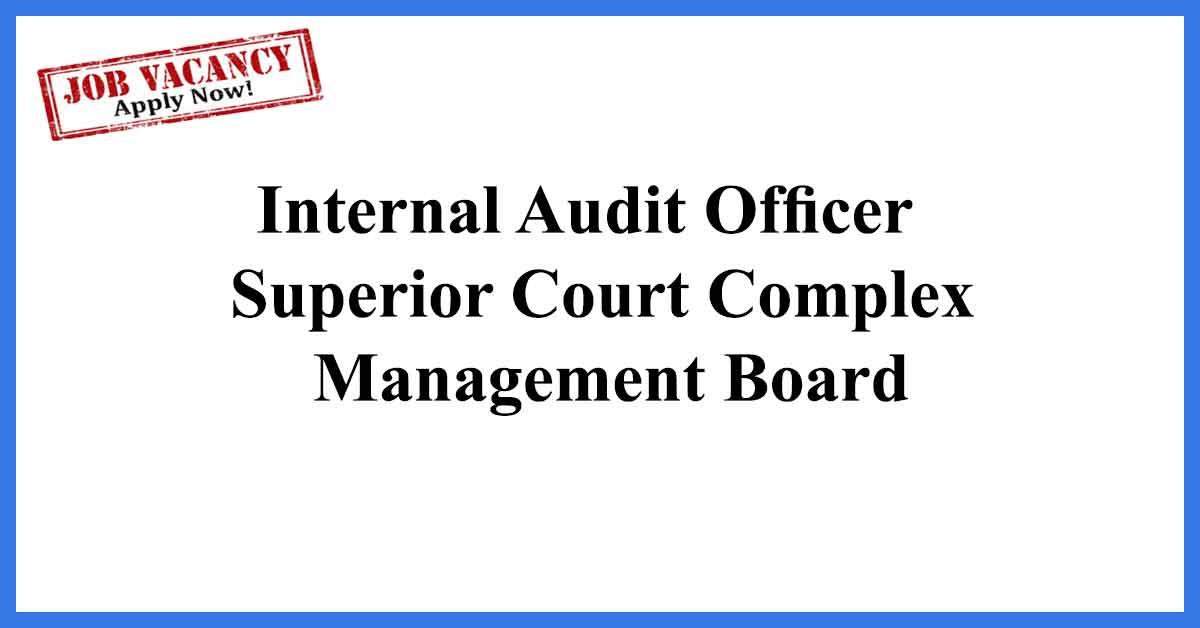 Internal Audit Officer