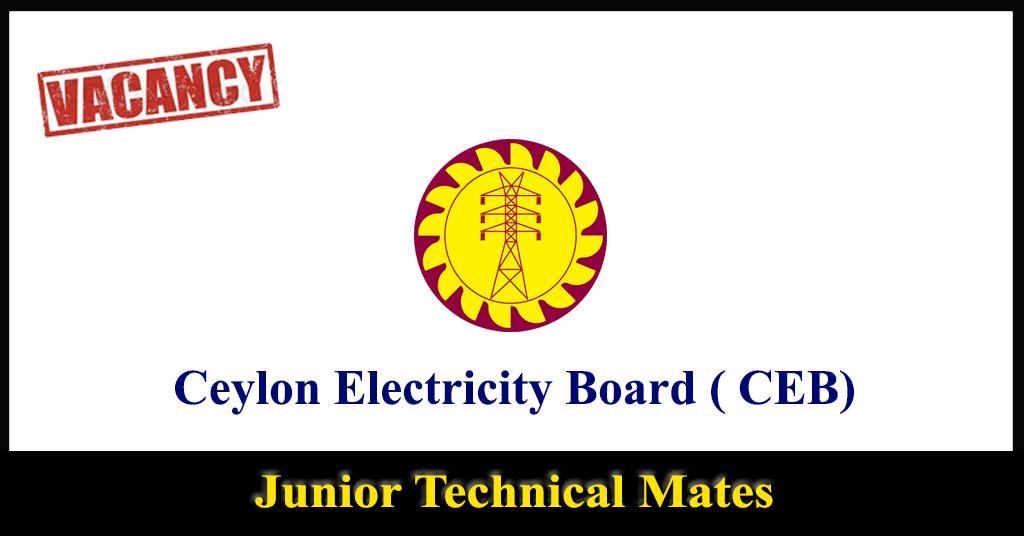 Junior Technical Mates - Ceylon Electricity Board ( CEB)