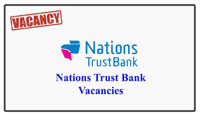 Nations Trust Bank Vacancies