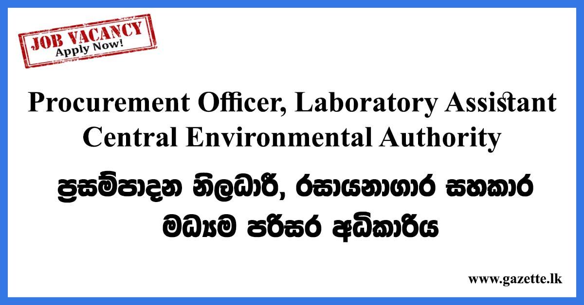 Procurement-Officer,-Laboratory-Assistant