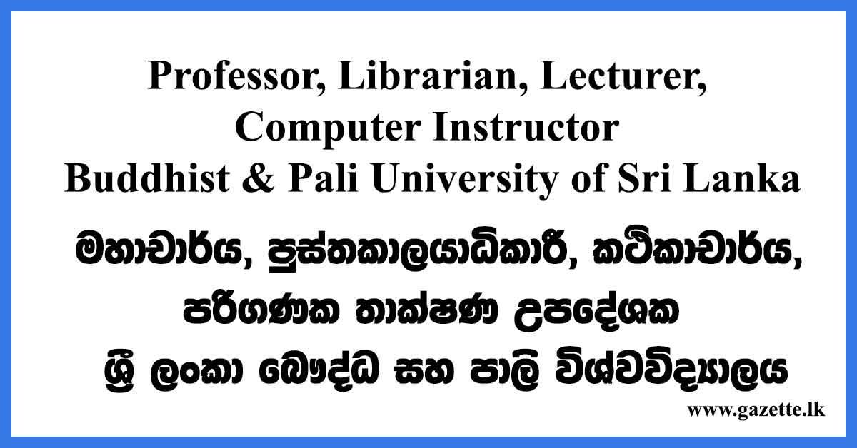 Professor Librarian Lecturer
