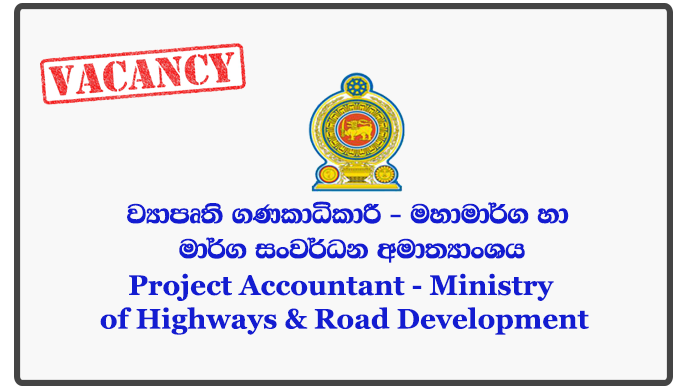 Project Accountant - Ministry of Highways & Road Development
