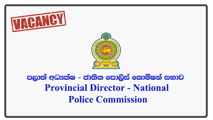 Provincial Director - National Police Commission