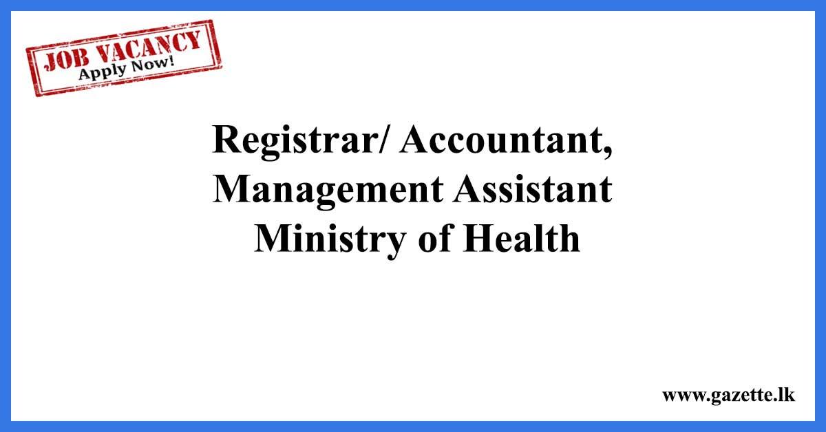 Registrar,Accountant,-Ministry-of-Health