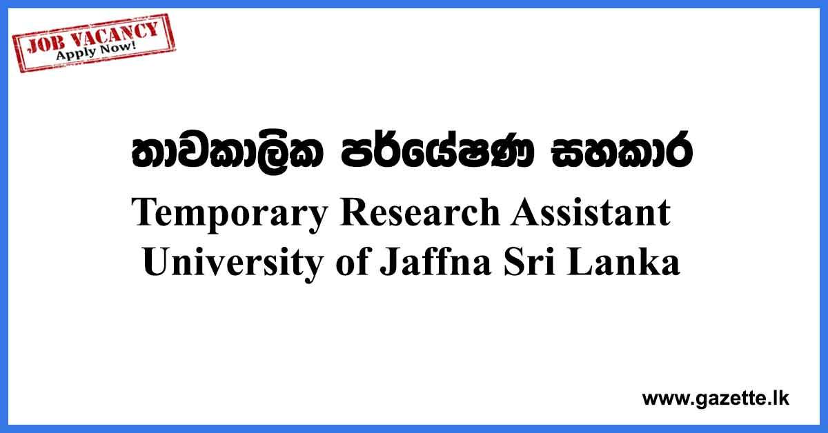 Research-Assistant-Vacancies