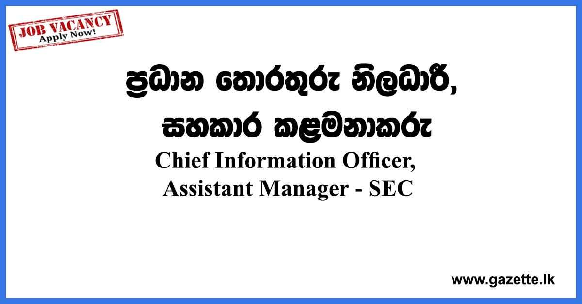 SEC-vacancies