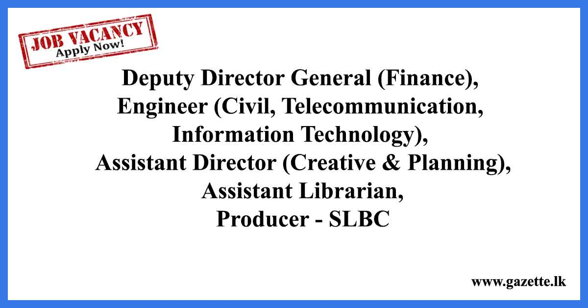 SLBC-Vacancies