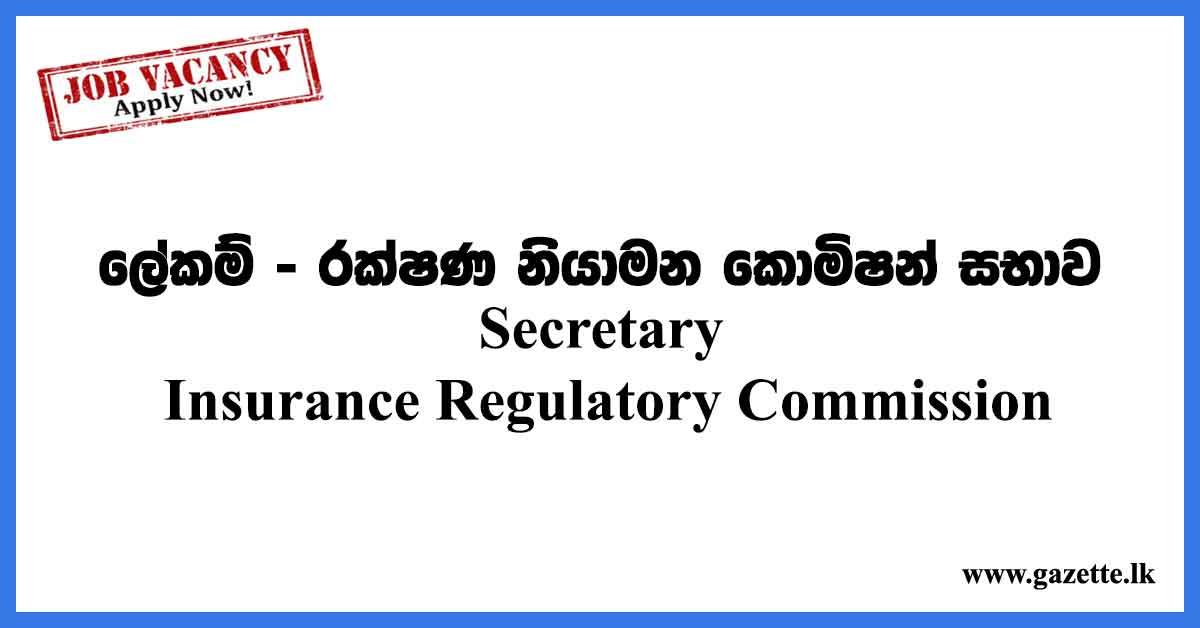 Secretary-Insurance-Regulatory-Commission