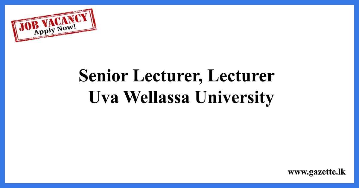 Senior-Lecturer,-Lecturer-Jaywardenapura