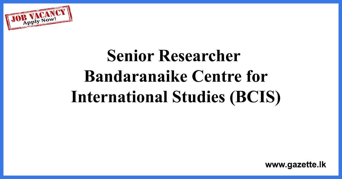 Senior-Researcher