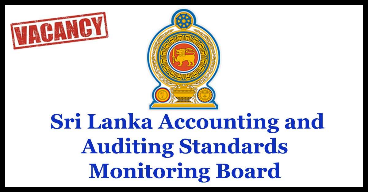 Sri Lanka Accounting and Auditing Standards Monitoring Board