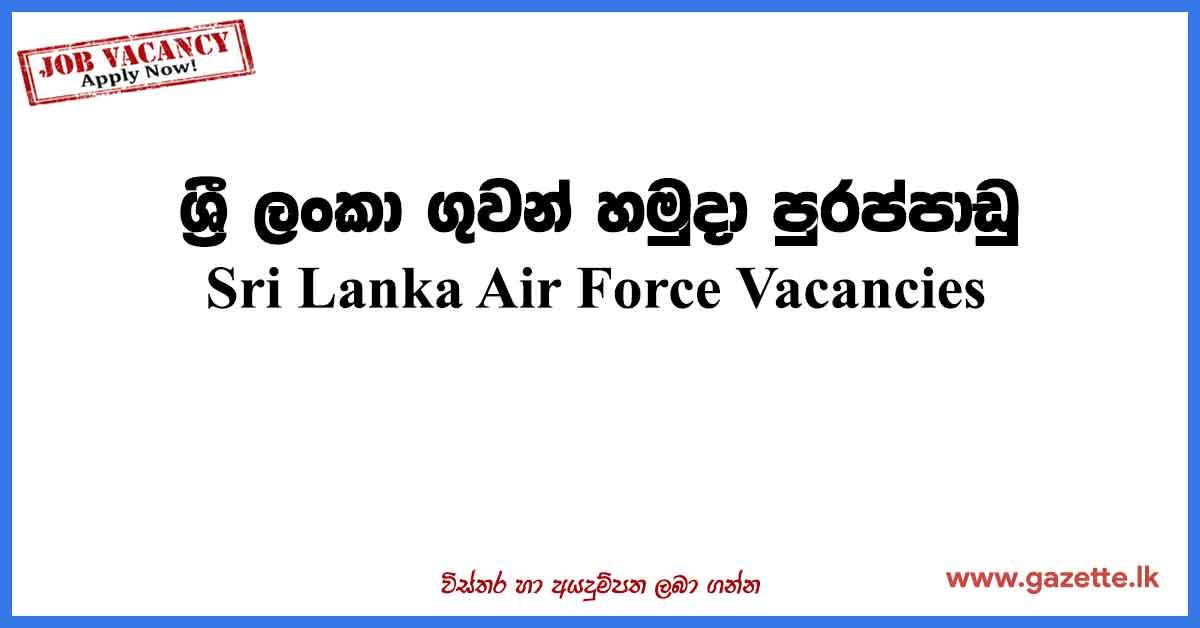 Sri-Lanka-Air-Force-Vacancies