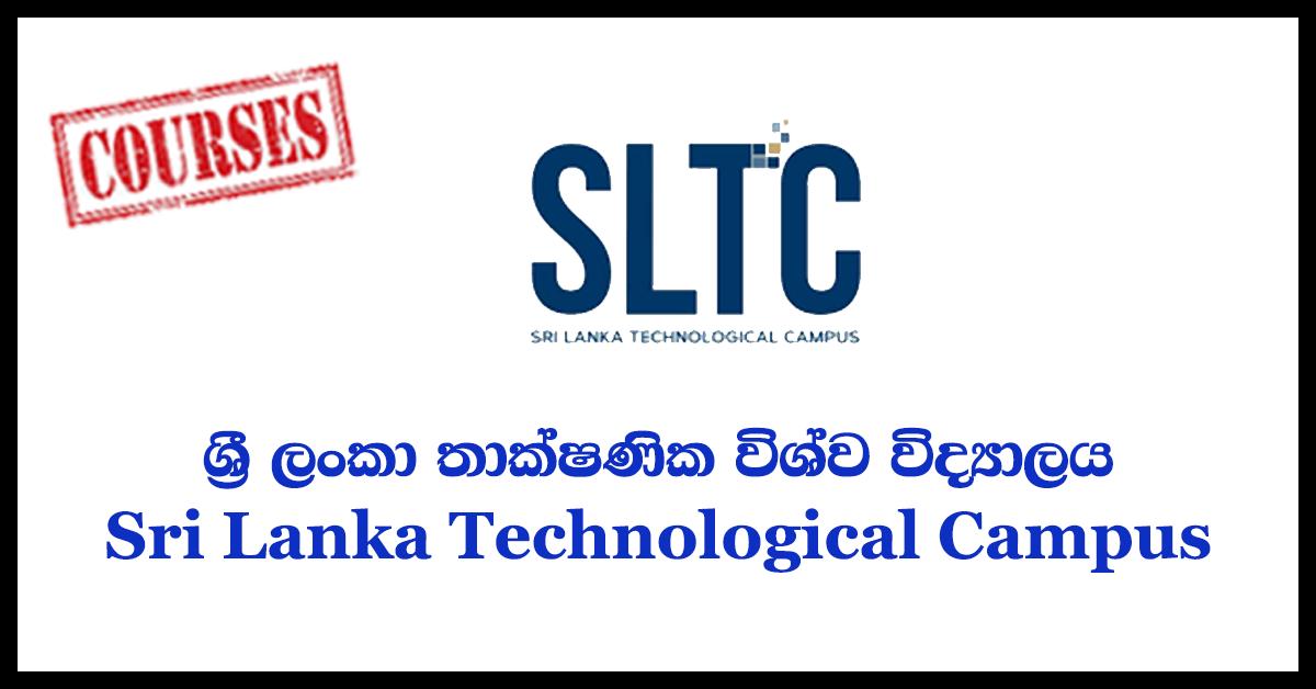 2018 October Intake – Sri Lanka Technological Campus(SLTC)