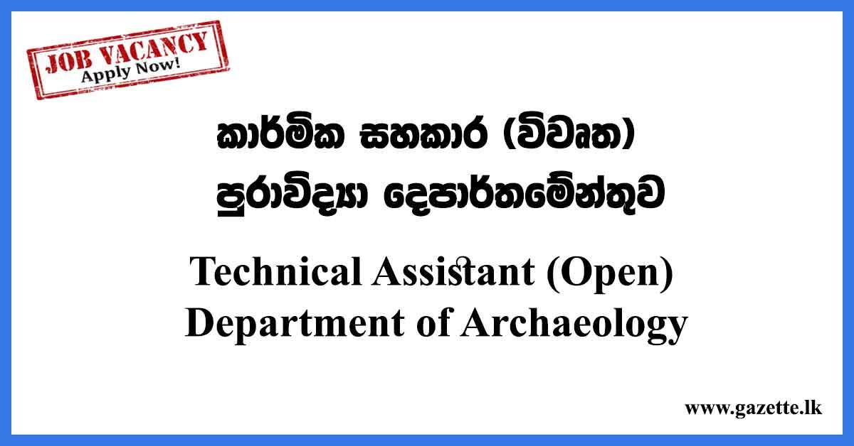 Technical-Assistant-(Open)-Exam