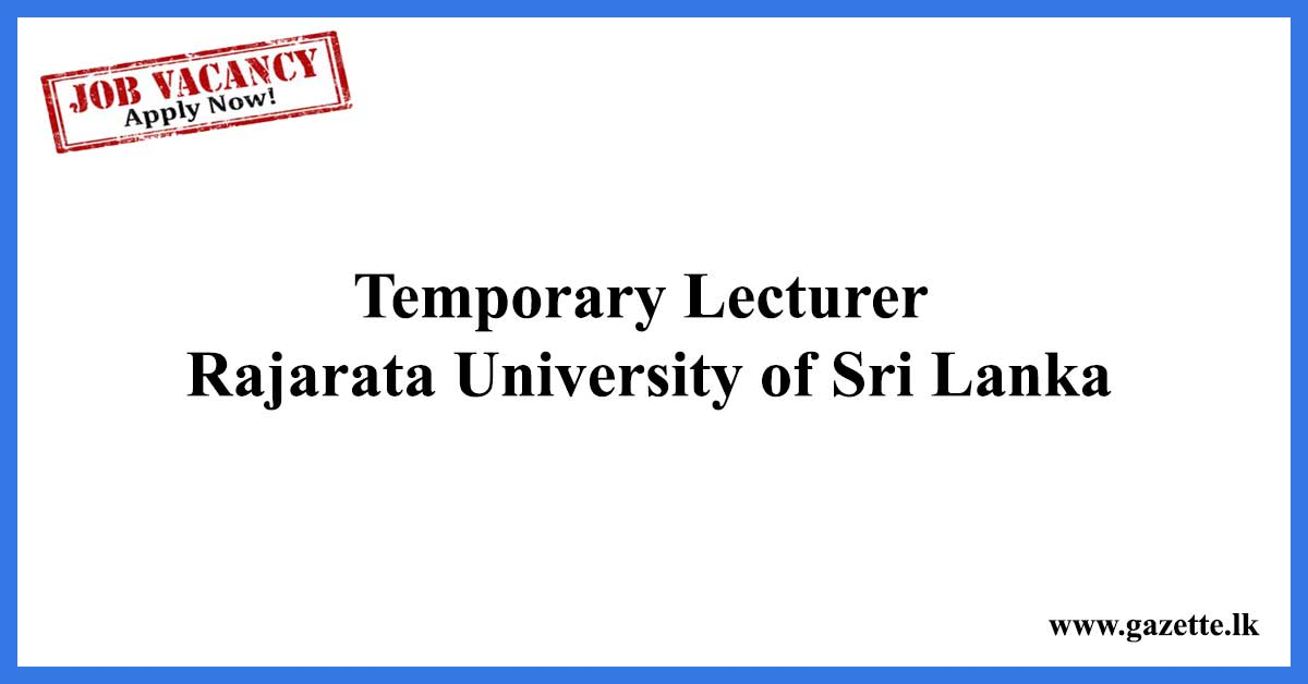 Temporary-Lecturer