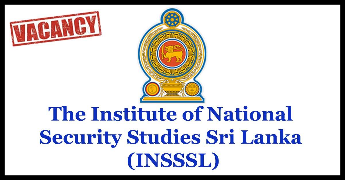 The Institute of National Security Studies Sri Lanka (INSSSL)