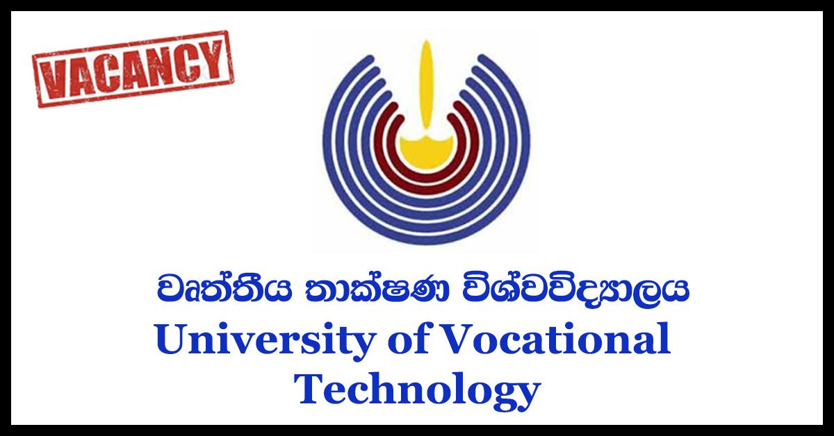 Lecturer , Demonstrator - University College of Ratmalana - University of Vocational Technology