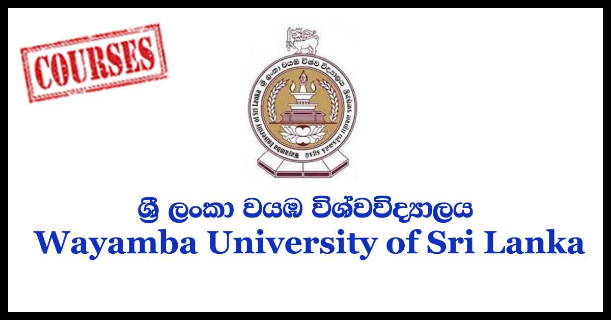 Wayamba University of Sri Lanka