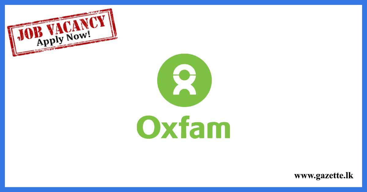 oxfam-vacancies