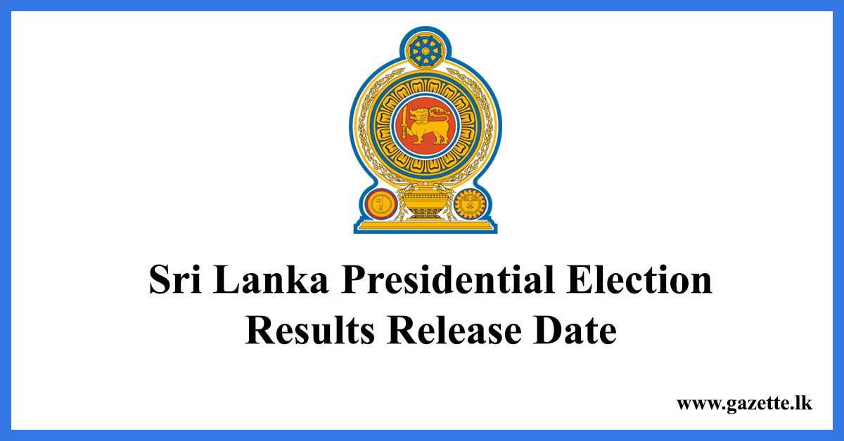 sri-lanka-presidential-election-reults-release-date